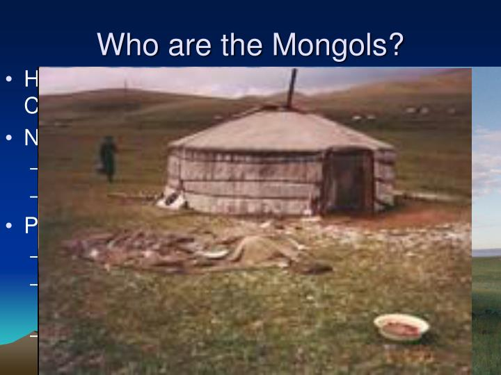 Who are the Mongols?