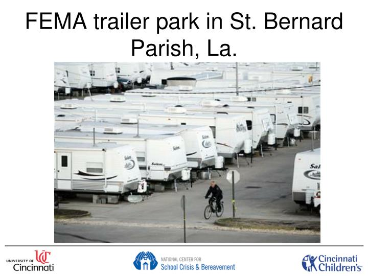 FEMA trailer park in St. Bernard Parish, La.