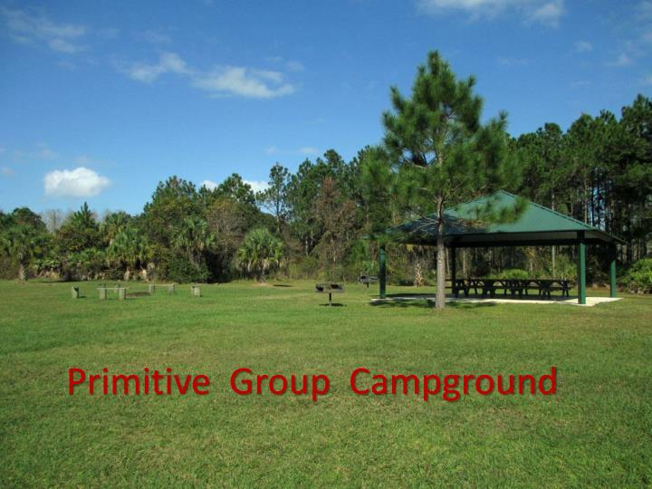 Primitive  Group  Campground