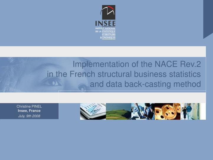 Implementation of the NACE Rev.2