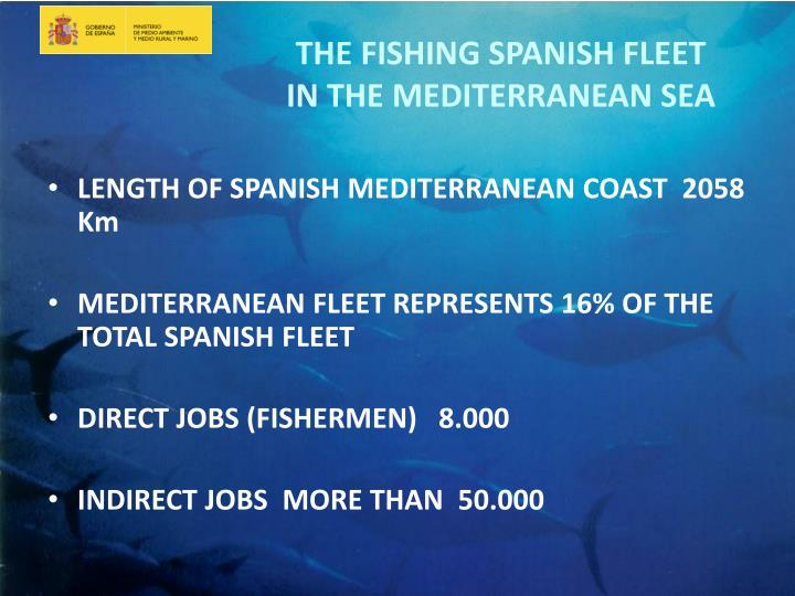 LENGTH OF SPANISH MEDITERRANEAN COAST  2058 Km