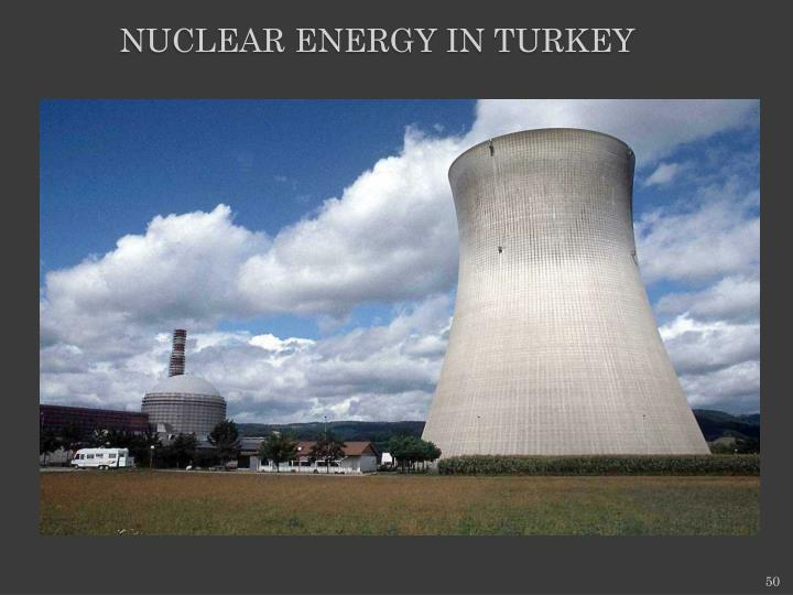 NUCLEAR ENERGY IN TURKEY