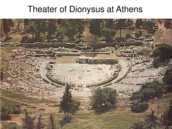 Theater of Dionysus at Athens