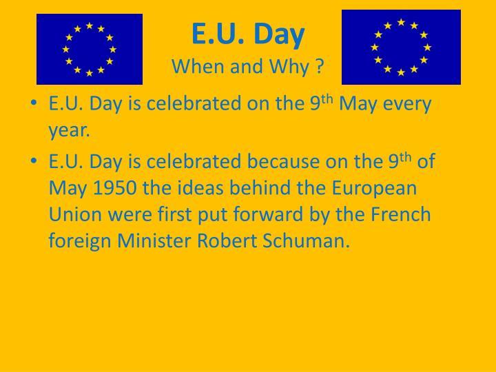 E.U. Day