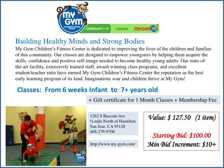 Building Healthy Minds and Strong Bodies