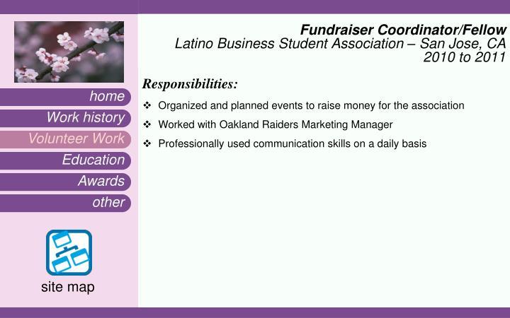Fundraiser Coordinator/Fellow
