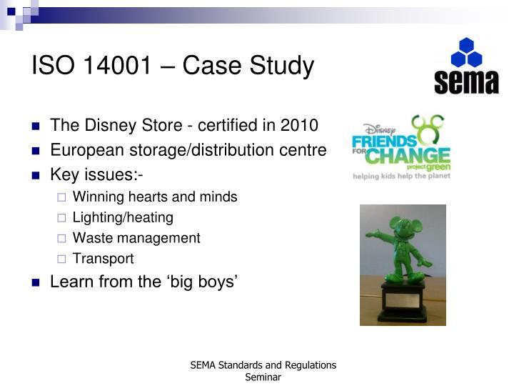 ISO 14001 – Case Study