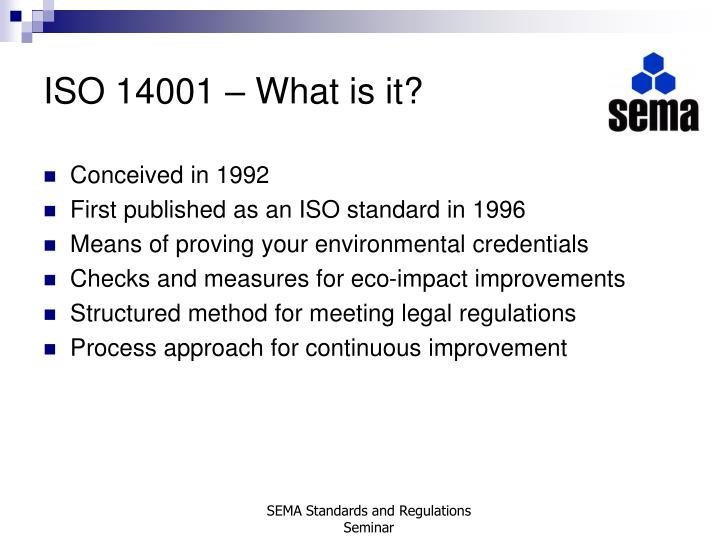 Iso 14001 what is it