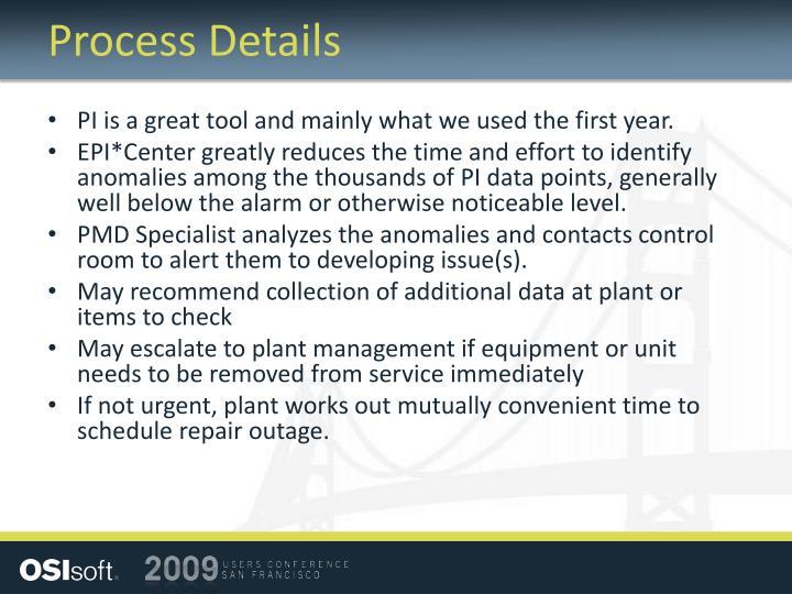 Process Details