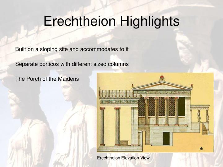 Erechtheion Highlights