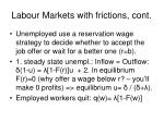 labour markets with frictions cont1