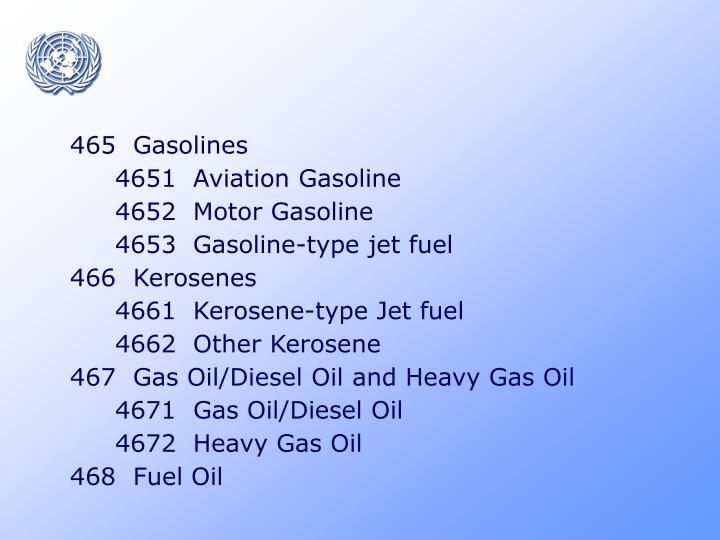 465  Gasolines