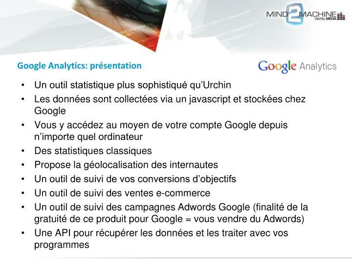 Google Analytics: présentation