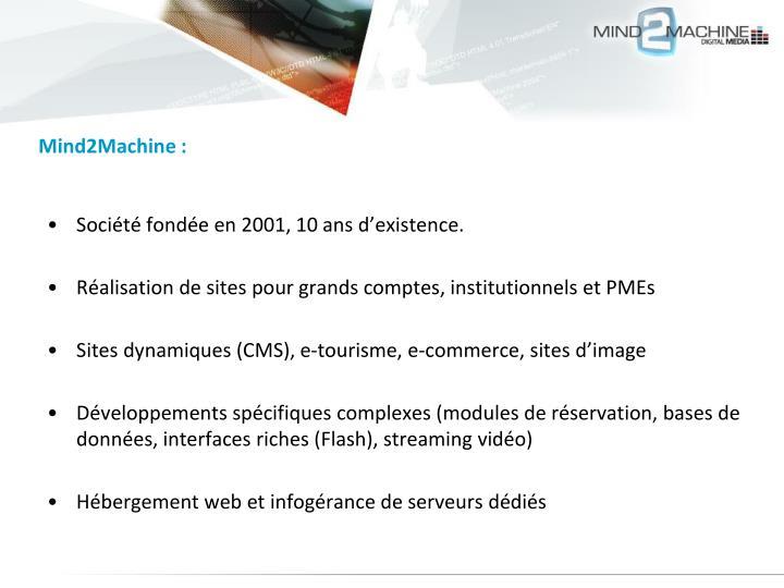 Mind2Machine :