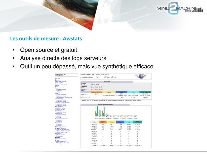 Les outils de mesure : Awstats