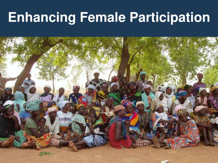 Enhancing Female Participation