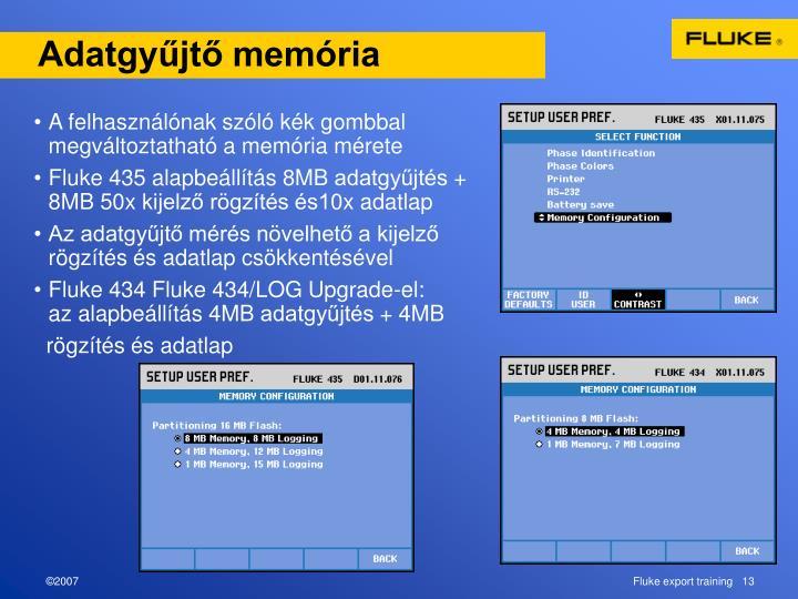 Adatgyűjtő memória