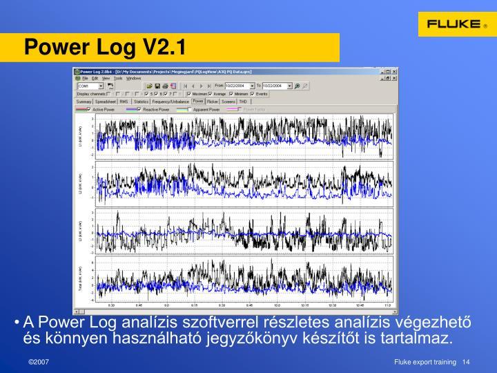 Power Log V2.1