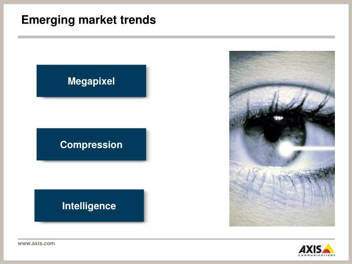 Emerging market trends