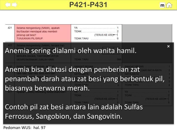 P421-P431
