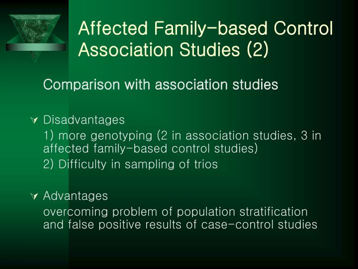 Affected Family-based Control Association Studies (2)