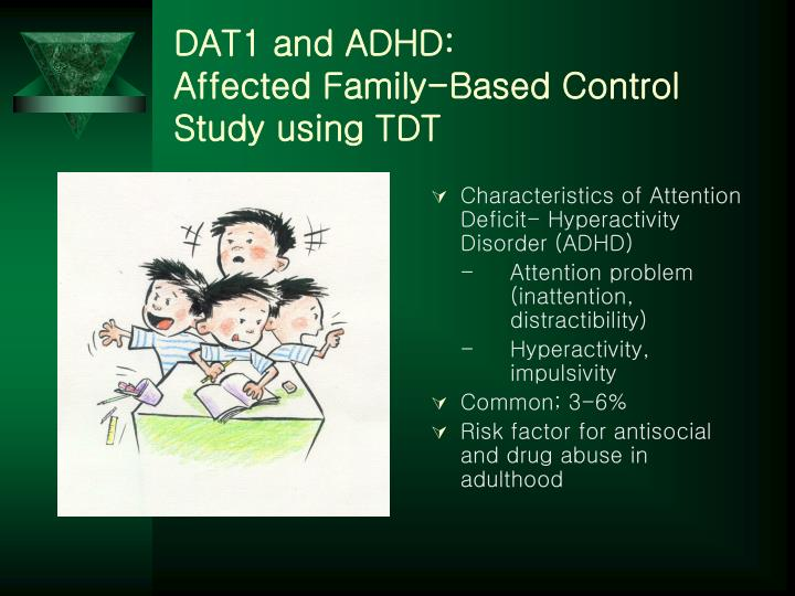 DAT1 and ADHD: