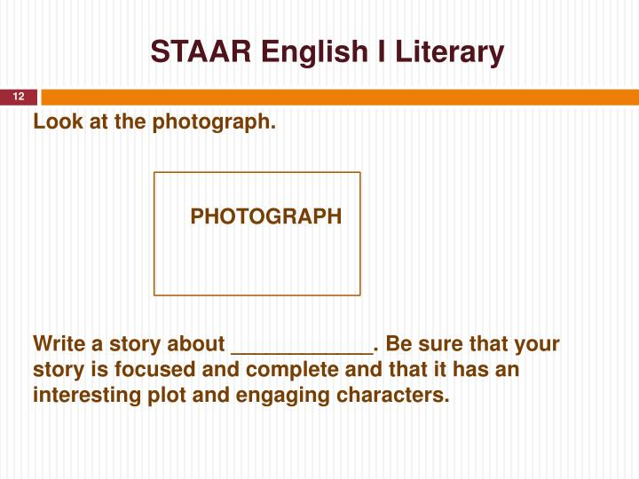STAAR English I Literary