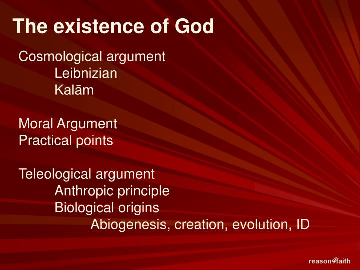 leibniz and the existence of god Leibniz on the problem of evil first published sun jan 4, 1998 substantive revision wed feb 27, 2013 there is no question that the problem of evil vexed leibniz as much as any of the problems that he engaged in the course of his philosophical career.
