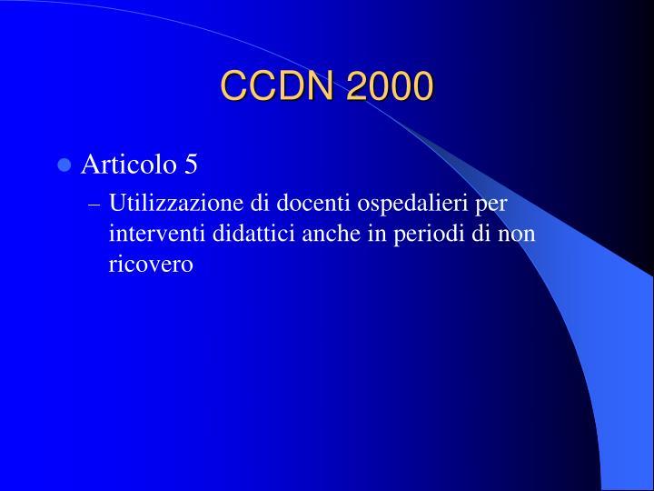 CCDN 2000