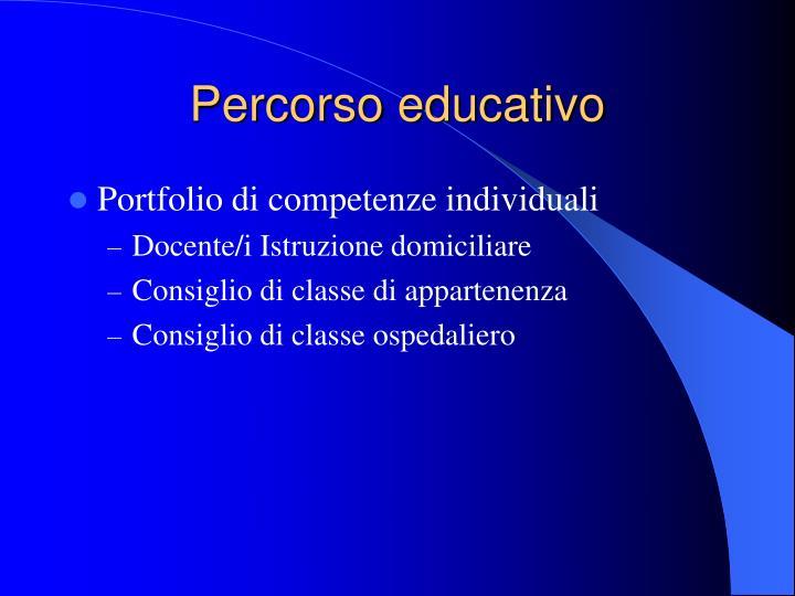 Percorso educativo
