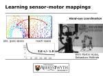 learning sensor motor mappings1