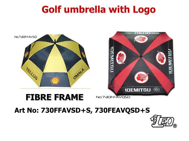 Golf umbrella with Logo