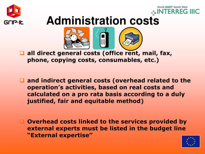 Administration costs