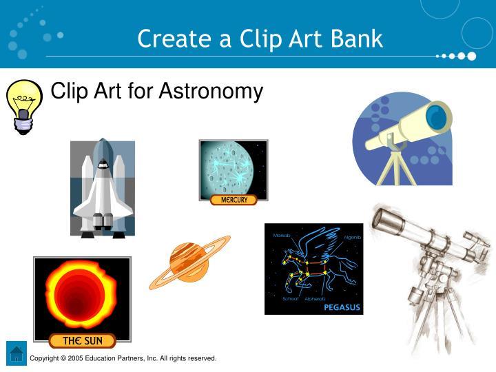 Create a Clip Art Bank