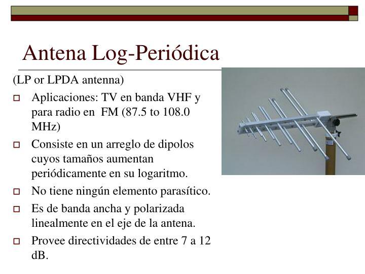 Antena Log-Periódica