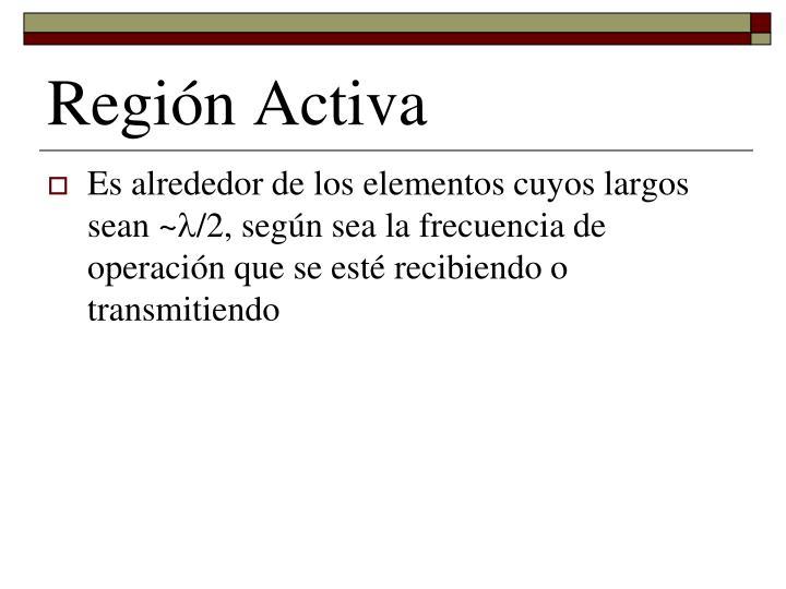 Región Activa