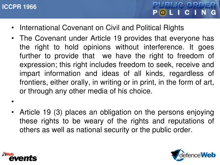 ICCPR 1966