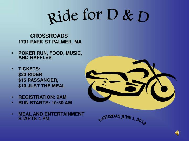 Ride for D & D
