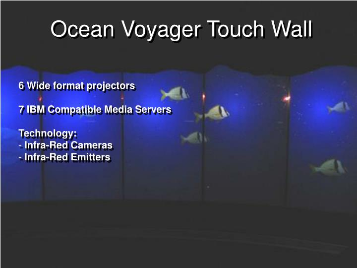Ocean Voyager Touch Wall
