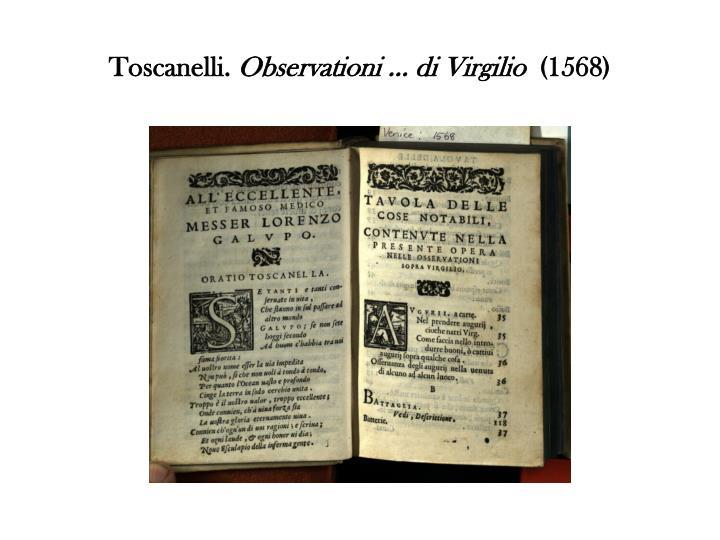 Toscanelli.