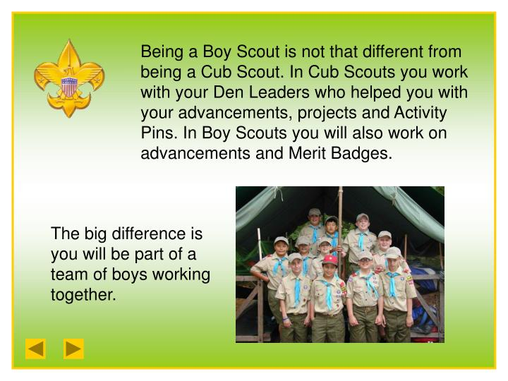 Ppt boy scouts of america powerpoint presentation id for Cub scout powerpoint template