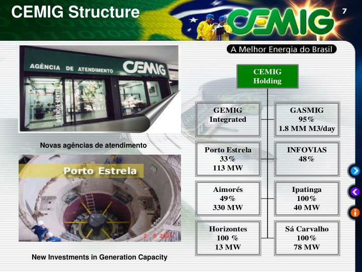 CEMIG Structure