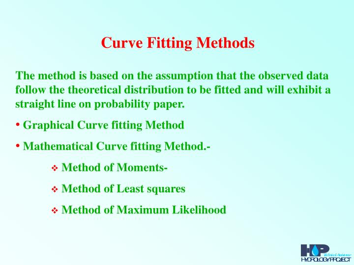 Curve Fitting Methods