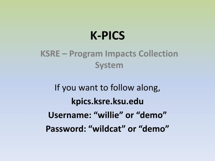K-PICS