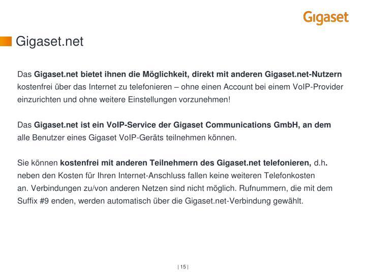 Gigaset.net
