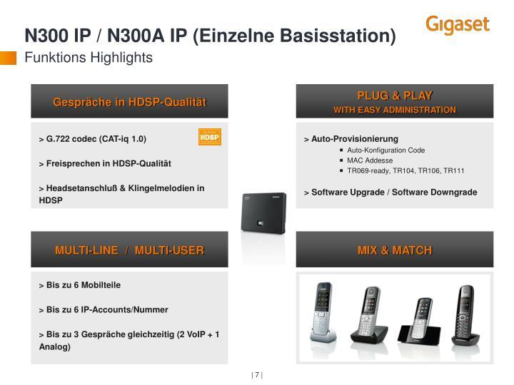 N300 IP / N300A IP