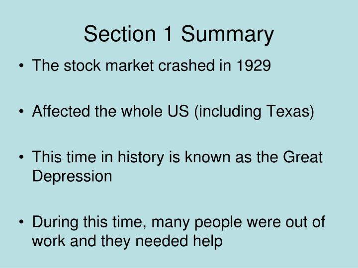 the great depression summary The great recession was the sharp decline in economic activity during the late  2000s and is considered the largest downturn since the great depression.