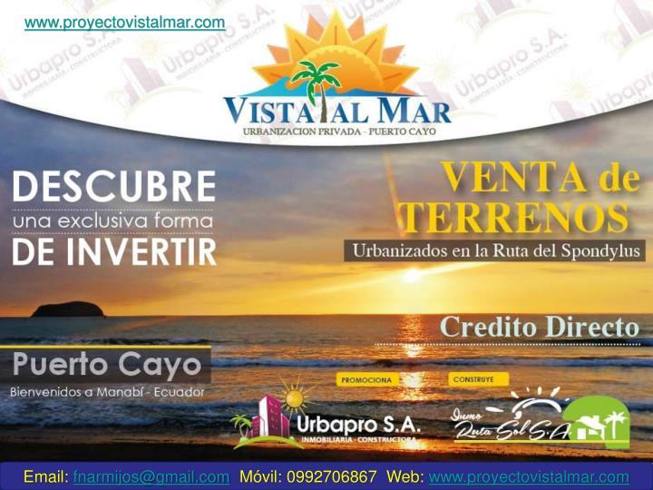 www.proyectovistalmar.com