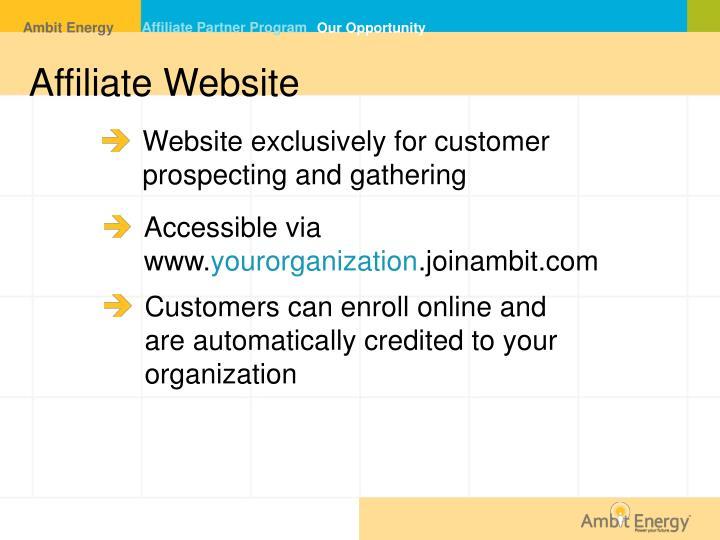 Affiliate Partner Program