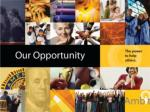 our opportunity